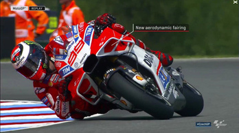 Furcsa pörölycápát villantott a Ducati