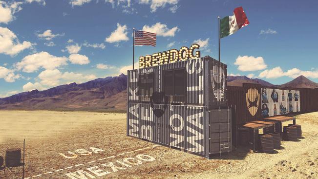 Fal helyett sörbárt építene az amerikai-mexikói határon egy sörfőzde