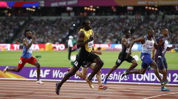 Usain Bolt kifutotta magából az idegességet