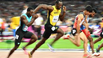 Már az hihetetlen, milyen hosszút lép Usain Bolt, hát még az erő