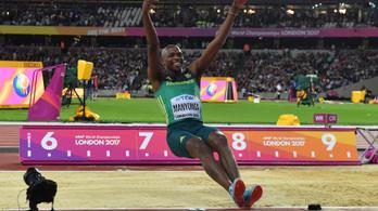 Homokangyallal ünnepelt vb-címet a drogról lejött atléta