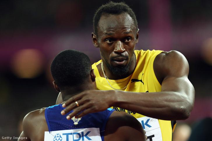 Bolt és Gatlin