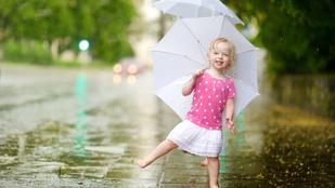 Mit jelent az, hogy 50 százalék esély van esőre?