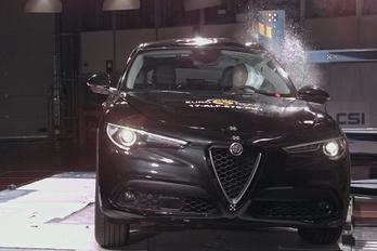 Alfa Romeo Stelvio Euro NCAP törésteszt 2017