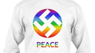 Menő vagy ciki a békepárti horogkeresztes pulóver?
