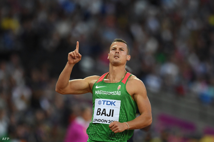 Baji Balázs megnyerte elődöntőjét a londoni atlétikai világbajnokságon