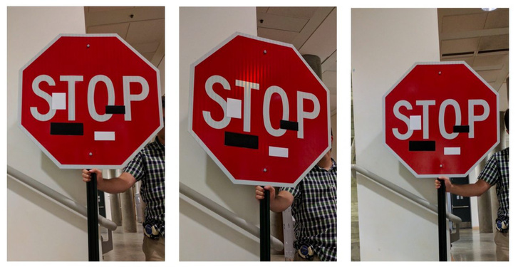 spoiled stop sign
