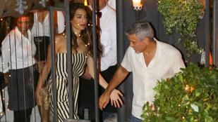Valahol azért nagyon nem irigyeljük Amal és George Clooney-t