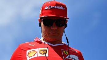Räikkönen: Gyors vagyok, de ez nem elég