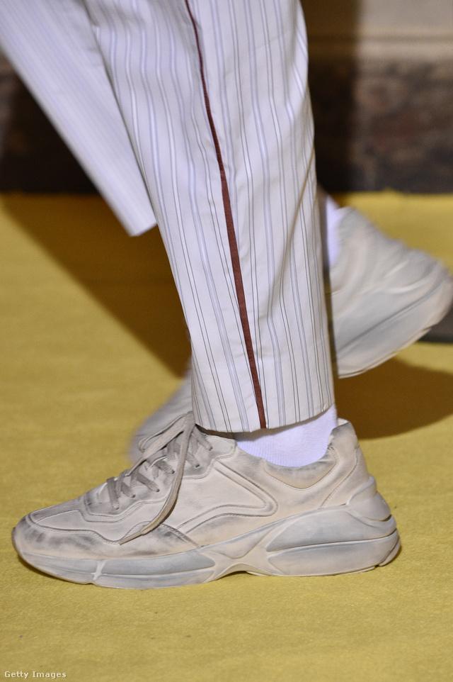 A Gucci szerint se pucolunk cipőt 2018-ban.