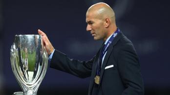 Zidane 19 hónap után a 4. legjobb Real-edző