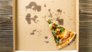 Légyszi, ne dobd a szelektívbe a pizzás dobozt!