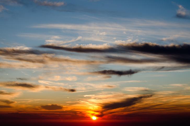 Végül is milyen színű az ég?