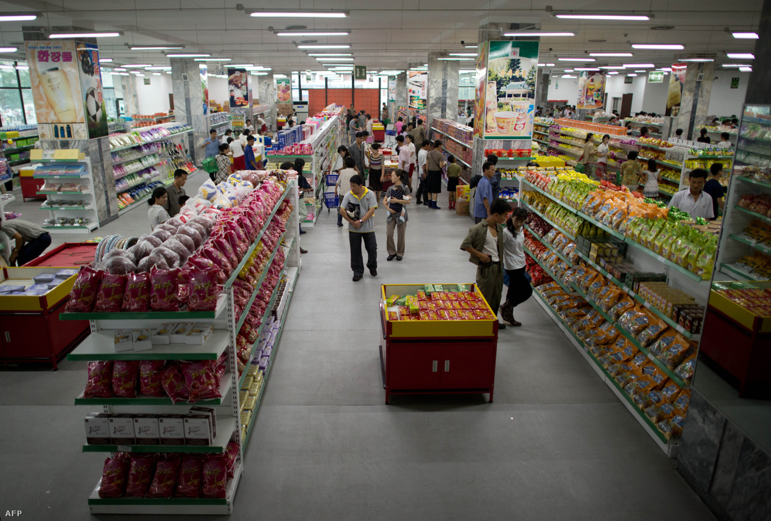 Szupermarket Phenjanban