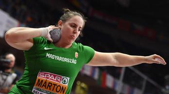 Márton Anita világbajnoki ezüstérmes lett súlylökésben