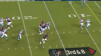 Nem volt megállás a touchdownig, villant az újonc NFL-es