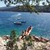 Rabac, a turisták strand-paradicsoma