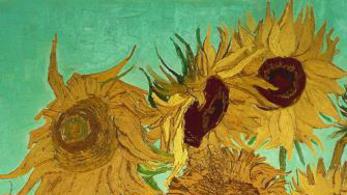 Először együtt Van Gogh öt napraforgós festménye
