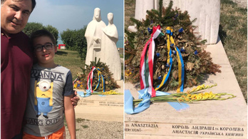 A Balatonon nyaral az Ukrajnából is kiebrudalt egykori elnök