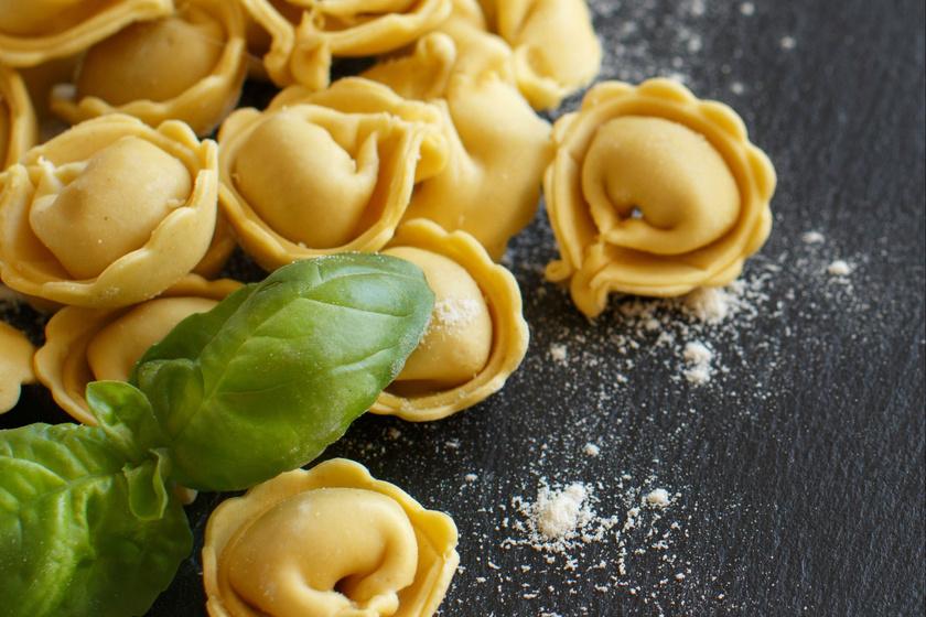 Házi tortellini: egyszerűbben el tudod otthon készíteni, mint gondolnád