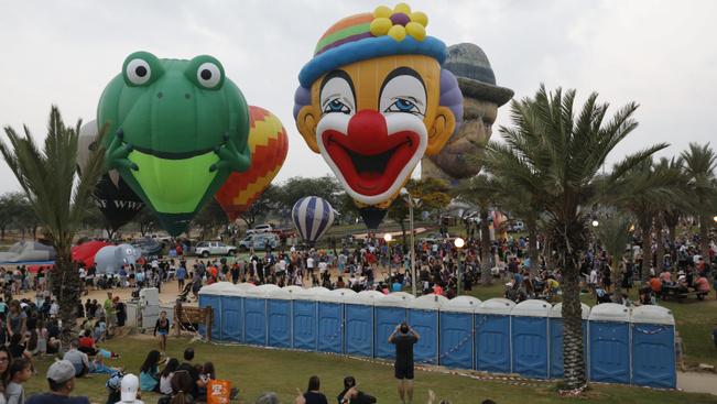 Íme a nemzetközi hőlégballon-fesztivál képekben!