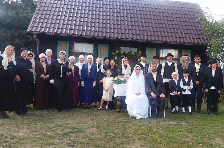 Esküvői rekonstrukció Radzanówban augusztus 5-én.