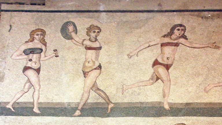 Így nézett ki a római kori bikini