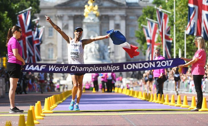 A győztes Yohann Diniz