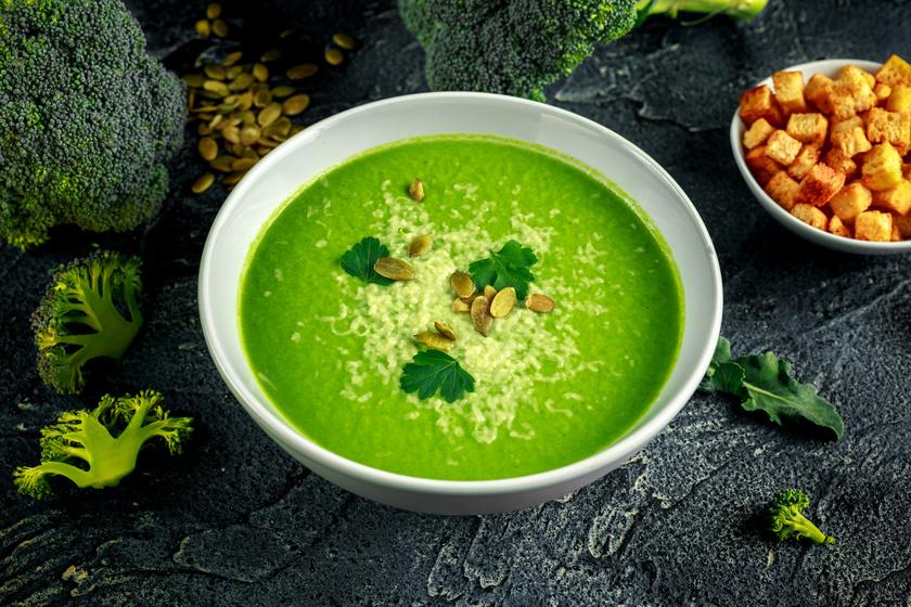Laktató brokkolifőzelék 300 kalória alatt: eltelít, fogyaszt és finom