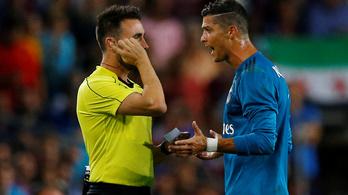 C. Ronaldo: két perc alatt bombagól és két sárga