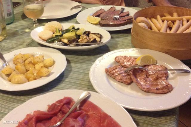 Ami az előétel és desszert között jött: agriturismo Santa Maria