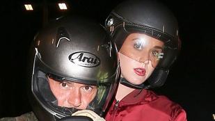 Katy Perry és Orlando Bloom azért motoroznak együtt, mert megint járnak?