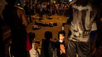 A legvéresebb éjszakáján van túl Duterte drogháborúja