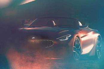 Megmutatták a BMW Z4-est