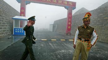Eszkalálódik a helyzet Kína és India között