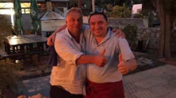 Az egyik pincér elmondta, mit evett Orbán a horvátországi étteremben