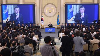 A dél-koreai elnök szerint nem lesz háború