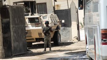 Öngyilkos merénylet a Gázai övezetben, a Hamász volt a célpont