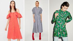 Ezeket az őszi ruhákat keresd a fast-fashion üzletekben!