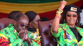Diplomáciai mentességet kérnek a zimbabwei diktátor feleségének