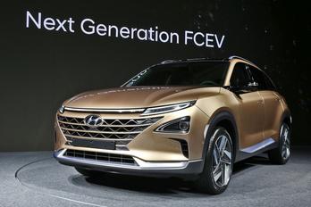 Új hidrogén-autót készített a Hyundai