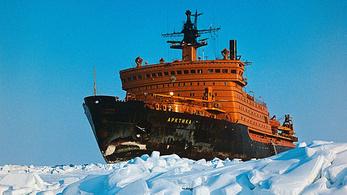 Az Arktyika 40 éve beparkolt az Északi-sarkra