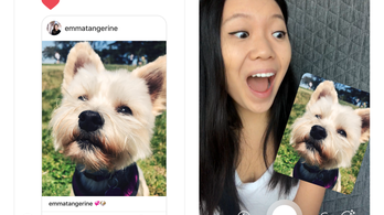 Új Instagram-funkció: videóból matrica