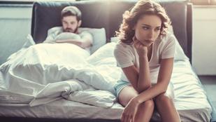 Az orális szex is el lett felejtve, ő undorodott a dologtól