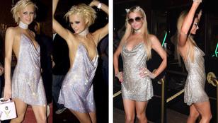 Paris Hiltonnak még mindig jól áll a csillogás