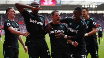 Chicharito 0-2-ról hozta vissza a 10 emberes West Hamet