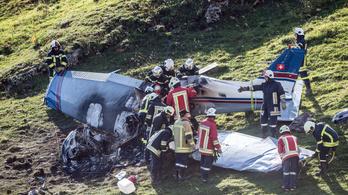 Lezuhant egy kisrepülő Svájcban, senki nem élte túl a balesetet