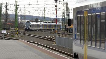 Késésekre számítsanak a Budapest-Vác vasútvonalon
