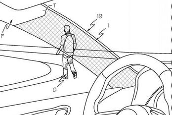 Átlátszó tetőoszlopot szabadalmaztat a Toyota