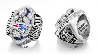 Trumpnak adta a 283 gyémántos Super Bowl-gyűrűjét a Patriots tulajdonosa
